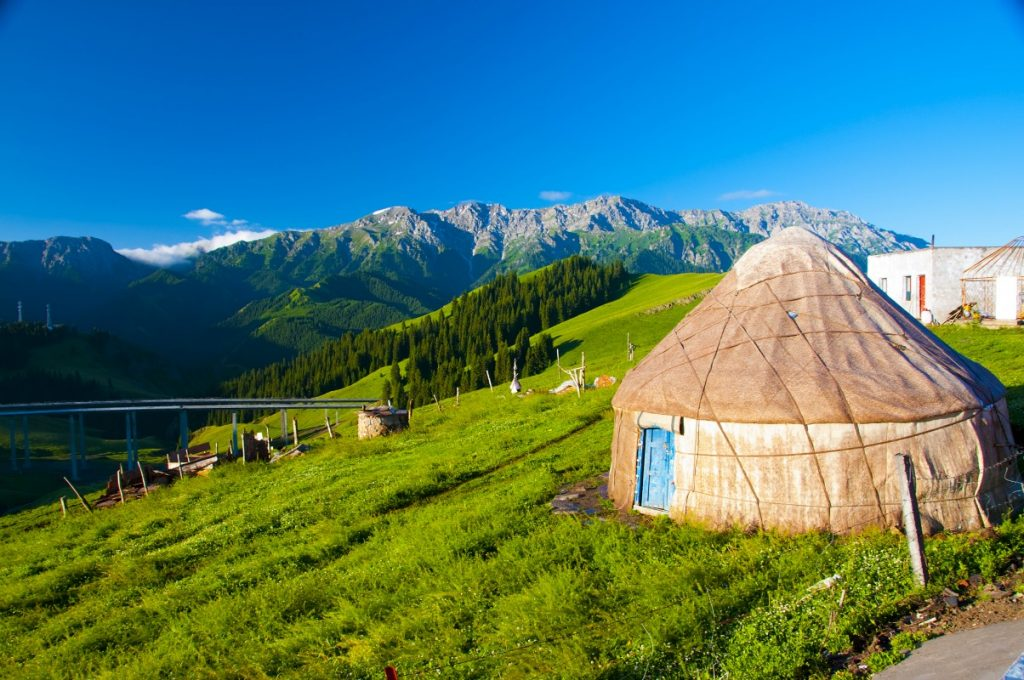 Yurts as an Alternative to Lodging